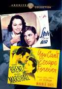 Love Is on the Air /  You Can't Escape Forever , George Brent