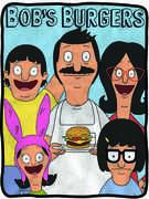 Bob's Burgers Fleece Blanket