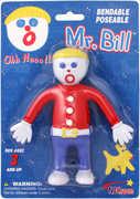 "Mr. Bill 5"" Bendable in Blister Card"