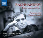 Piano Concerto 3 /  Variations on Theme of Corelli , Boris Giltburg