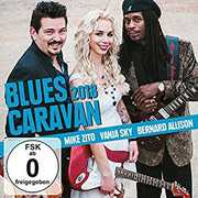 Blues Caravan 2018 , Mike Zito Vanja Sky Bernard Allison