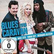 Blues Caravan 2018 , Mike Zito Vanja Sky Bernard Allison