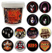 KISS 144 Pc Bucket O' Buttons