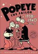 Popeye the Sailor: Volume 2 1938-1940 , William Costello