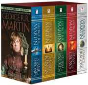 George R. R. Martin's A Game of Thrones 5-Book Boxed Set (Song of Ice and Fire) (Game of Thrones) , George R. R. Martin