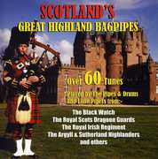 Scotland's Great Highland Bagpipes , Various Artists