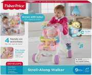 Fisher Price - Stroll- Along Walker