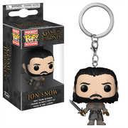 FUNKO POP! KEYCHAIN: Game of Thrones - Jon Snow (Beyond the Wall)