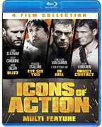 4-Film Icons of Action Set , Dolph Lundgren