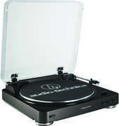 Audio Technica AT-LP60BK Automatic Turntable System - Black