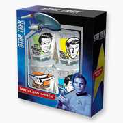 Star Trek Quotes Shotglass 4-pk (doctor, frontier, phasers, illogical)