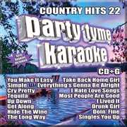 Party Tyme Karaoke: Country Hits, Vol. 22 , Various Artists