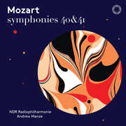 Symphonies 40 & 41 , Andrew Manze