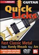 Quick Licks for Guitar: Randy Rhoads-Fast , Jamie Humphries