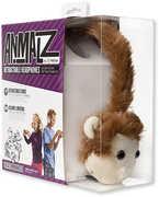 Animalz ETAUDFMNKY Monkey Headphones Brown
