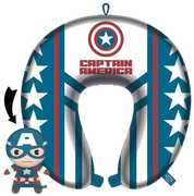 Captain America Reversible Neck Pillow with Journal