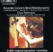 Recorder Concerti /  Suite , Drottningholm Baroque Ensemble