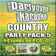 Party Tyme Karaoke: Country Party Pack 5 , Various Artists