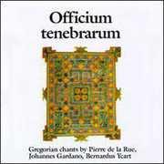 Gregorian Chant: Officium Tenebrarum /  Various , Officium Tenebrarum