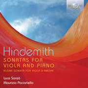 Sonatas for Viola & Piano , Hindemith