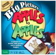 Mattel Games - Big Picture Apples To Apples Big Picture Card Game