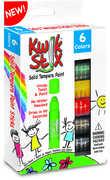 KwikStix Tempera Paint 6 Classic Colors