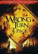 Wrong Turn DVD 3 Pack , Tamer Hassan