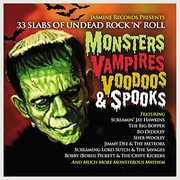 Monsters Vampires Voodoos & Spooks: 33 Slabs Of Undead Rock N Roll / Various [Import] , Various Artists
