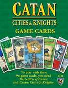 Catan Expansion: Cities and Knights Game Cards