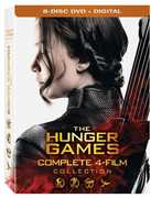 The Hunger Games: Complete 4 Film Collection , Jennifer Lawrence