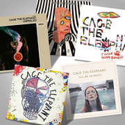 The Cage The Elephant Complete Studio Albums Vinyl Bundle , Cage the Elephant