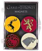 Game of Thrones Sigil Magnet 4-Pack