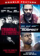 Criminal Activities /  The Suspect Double Feature , Michael Pitt
