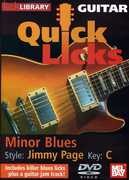 Quick Licks: Jimmy Page Minor Blues - Key C , Danny Gill