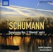 Symphonies Nos. 3 & 4 , Gerard Schwarz