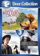 3-Movie Family Dove Collection: Volume 1 , James Whitmore