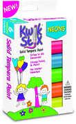 KwikStix Tempera Paint 6 Neon Colors