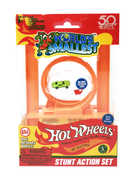 World's Smallest: Hot Wheels Mini World Stunt Action Set (Includes loop & 1 car)