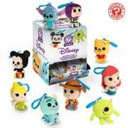 FUNKO PLUSH KEYCHAIN: Disney /  Pixar Series 1  (ONE Random Keychain Per Purchase)