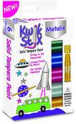 KwikStix Tempera Paint 6 Metalix Colors