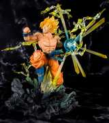 Dragon Ball Z Super Saiyan Son Goku -The Burning Battles, BandaiFiguartsZERO