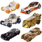 Mattel - Hot Wheels - Star Wars Ep 8 Character Car 2-Pack Assortment (SWE8)