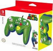 HORI Battle Pad GameCube Style Controller - Luigi Edition for NintendoSwitch