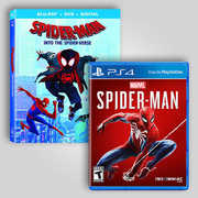 Spider-Man Video Game And Blu-ray Bundle