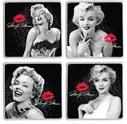 Marilyn Monroe 4 Piece Ceramic Coaster Set
