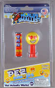 World's Smallest: Pez Emoji Assortment (Random Style: LOL, Smiley or Heart)