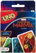 Mattel - Card Games - Captain Marvel UNO