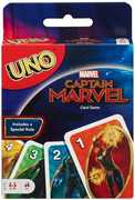 Mattel - Card Games - Captain Marvel UNO