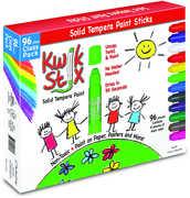 KwikStix Tempera Paint 96 pc Classic Classpack Set 8 of each Color