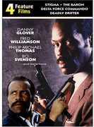 4 Feature Films: Stigma /  The Baron /  Delta Force Commando /  Deadly Drifter , Fred Williamson